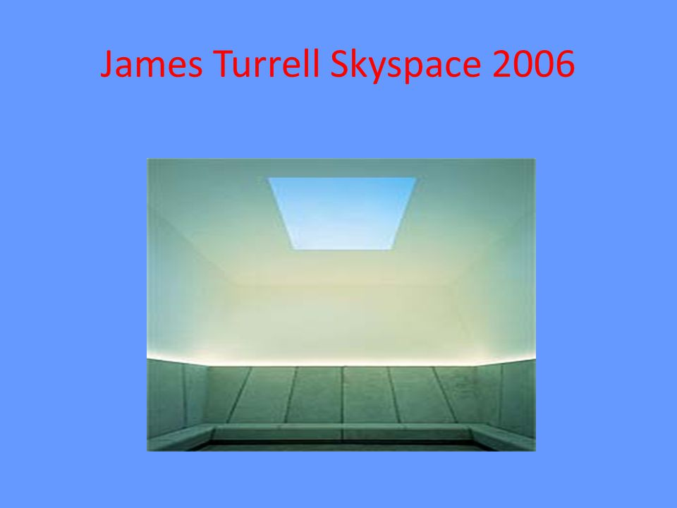 James Turrell Skyspace 2006