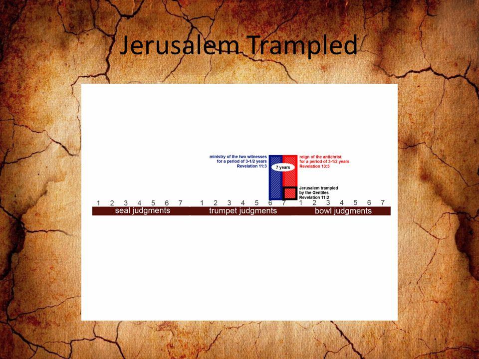 Jerusalem Trampled