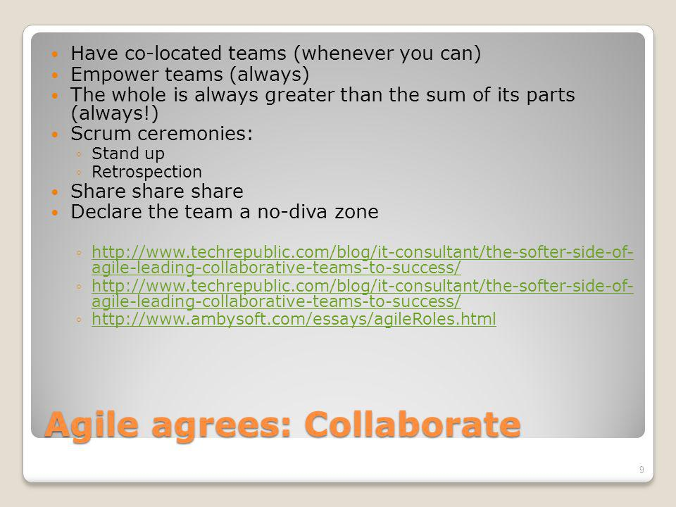 Henry says: Collaborate Coming together is a beginning; keeping together is progress; working together is success.