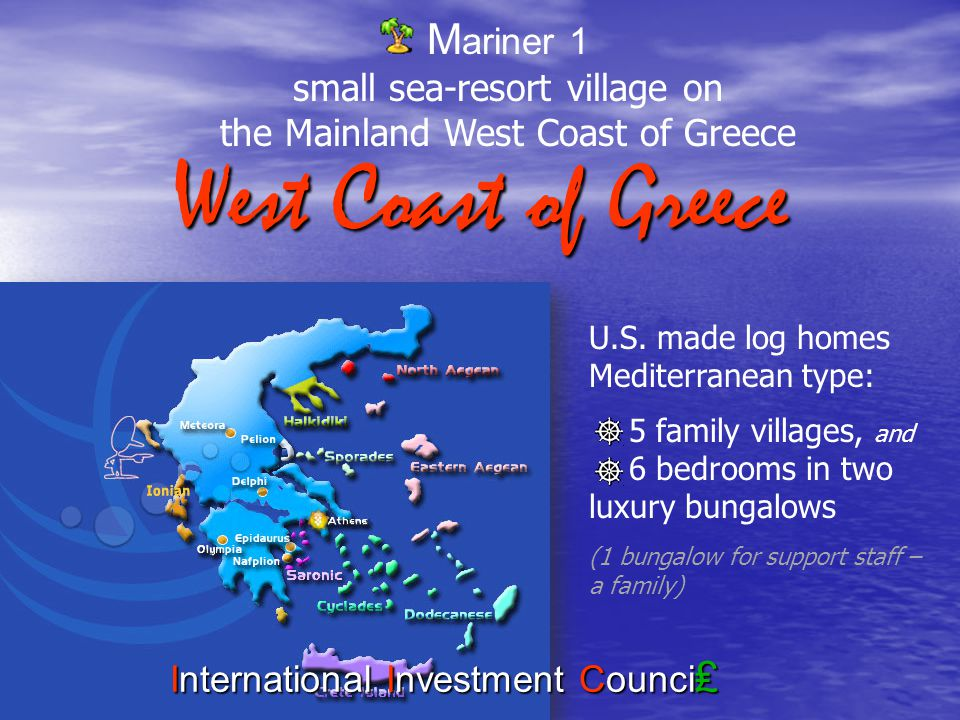 Well achieve all these in the hard time of Greece with the appreciable assistance of: and of cource the creative team International Investment Counci