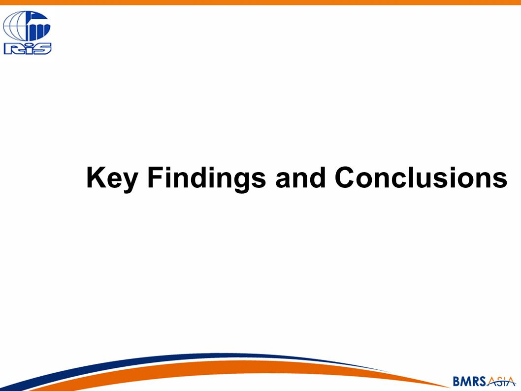 Key Findings and Conclusions