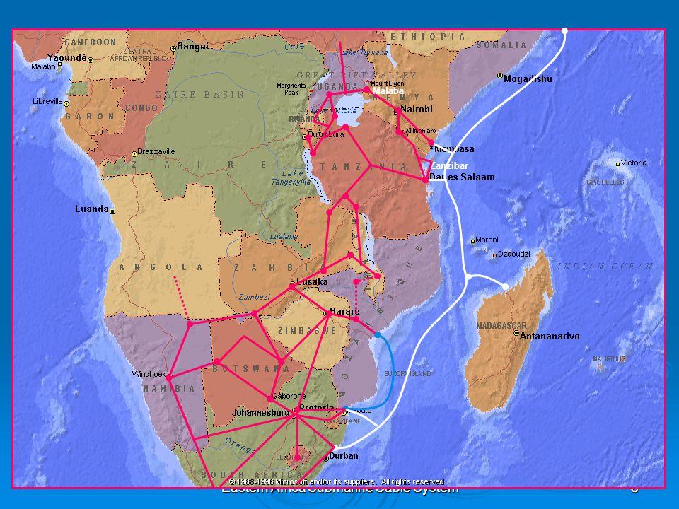 Eastern Africa Submarine Cable System8 Zanzibar Malaba