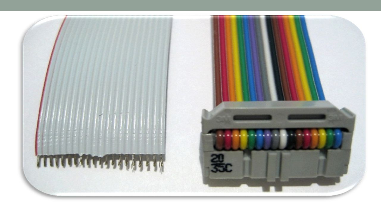 RIBBON CABLE (Contd……) The ribbon cable was invented in 1956 by Cicoil Corporation, a company based in Chatsworth, California.