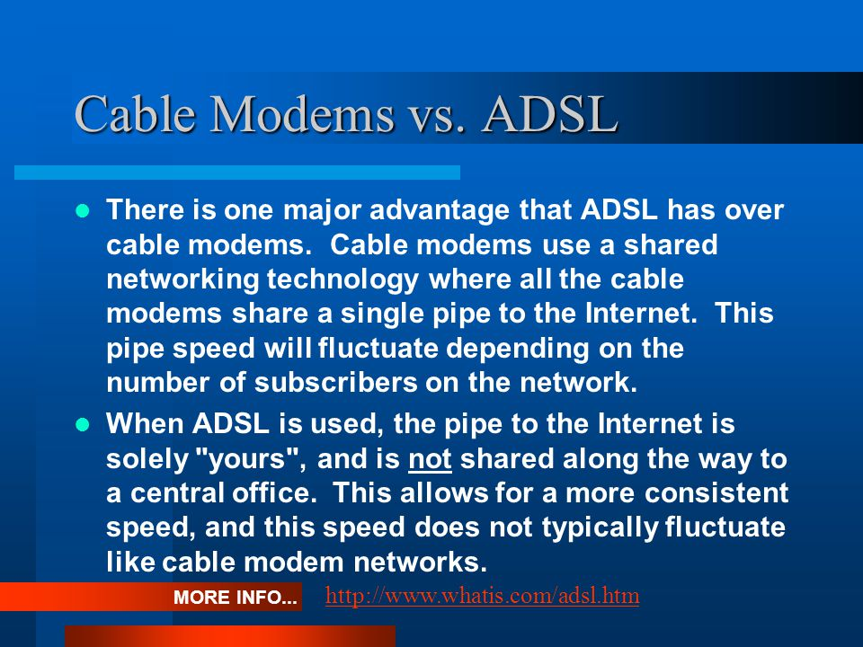 How secure is a Cable Modem.