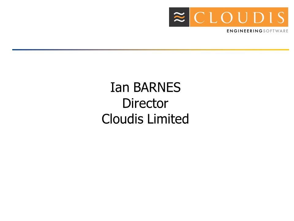 Ian BARNES Director Cloudis Limited