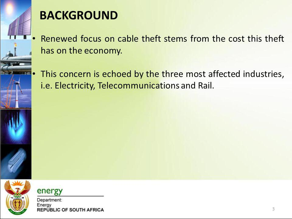 Cable theft is not only a South African phenomenon, but it has become an international challenge.