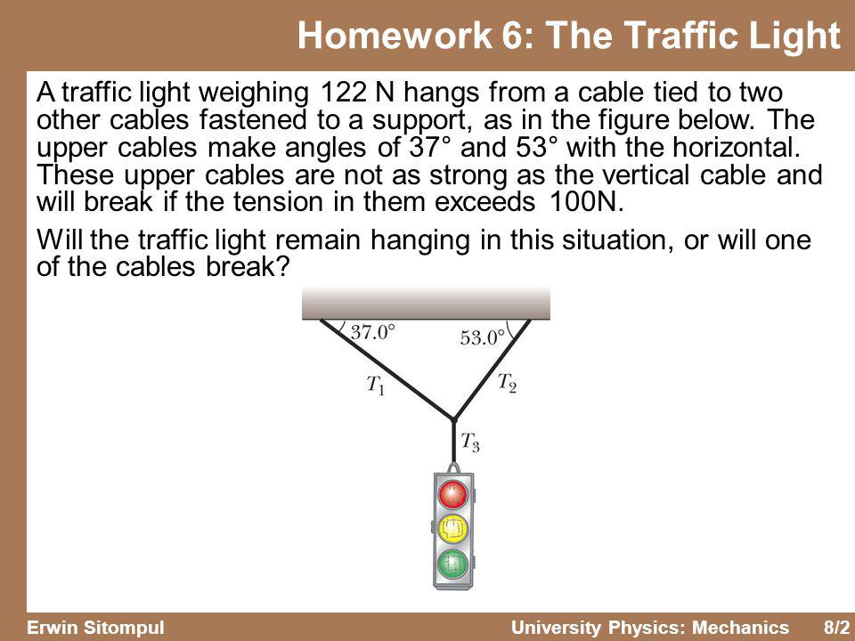 8/13 Erwin SitompulUniversity Physics: Mechanics If a cars wheels are locked (kept from rolling) during emergency braking, the car slides along the road.