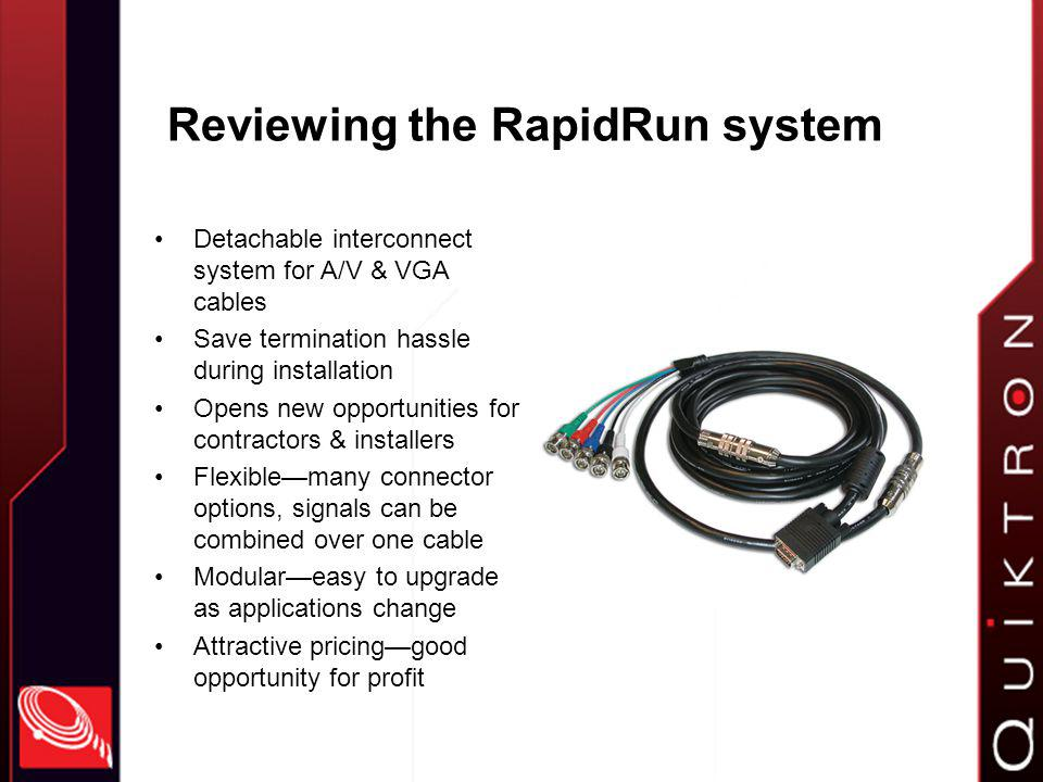 Who can use RapidRun.