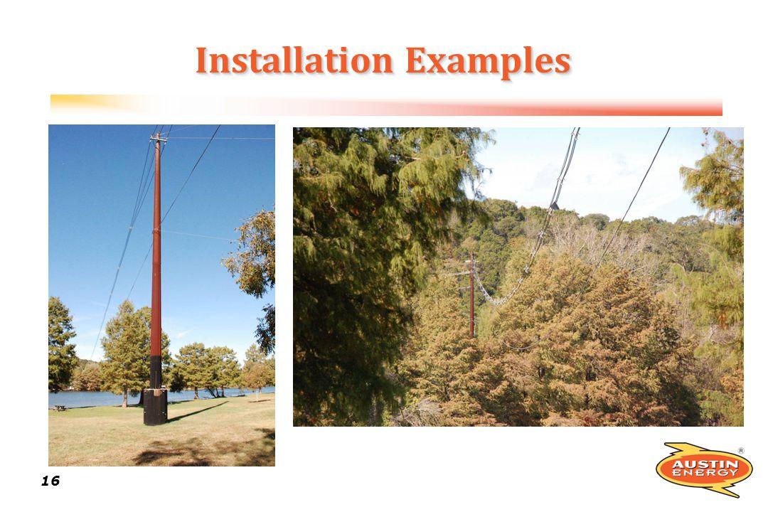16 Installation Examples
