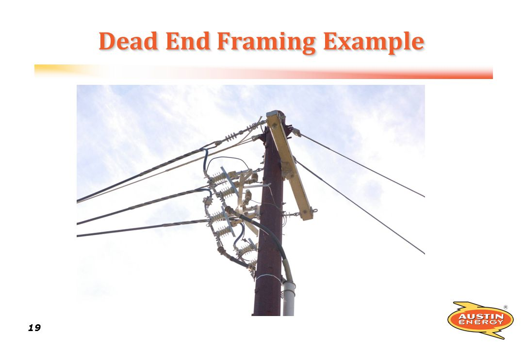 19 Dead End Framing Example