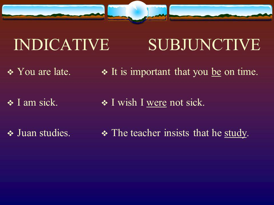 The subjunctive is rarely used in English and sounds strange to those who are not highly educated. Huh?