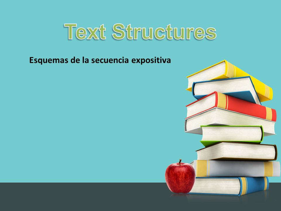 Why Do Authors Use Different Text Structures.