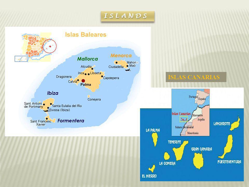 ISLANDSISLANDS ISLAS CANARIAS