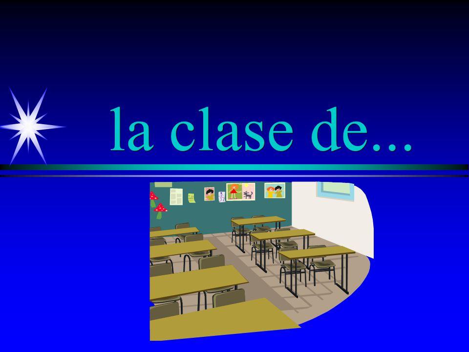 la clase class