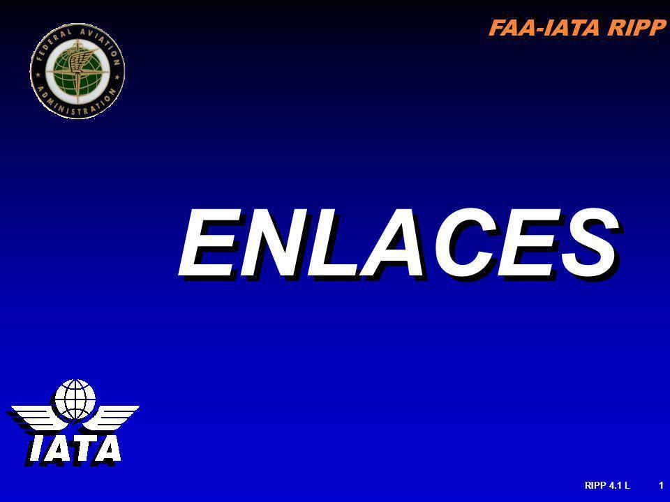 FAA-IATA RIPP RIPP 4.1 L1 ENLACES