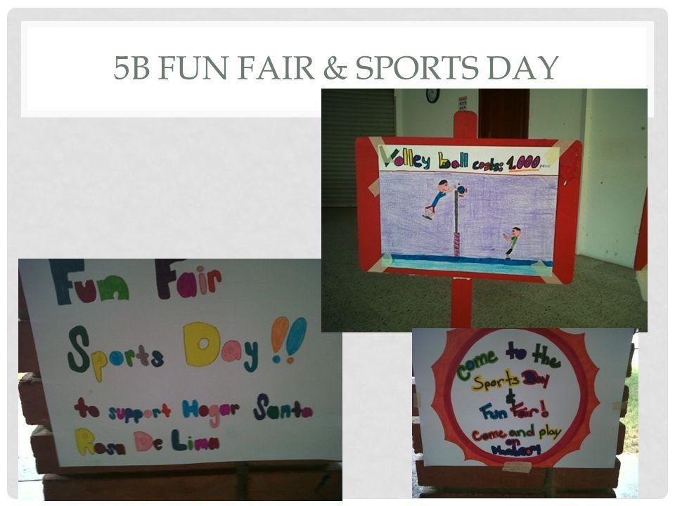 5B FUN FAIR & SPORTS DAY
