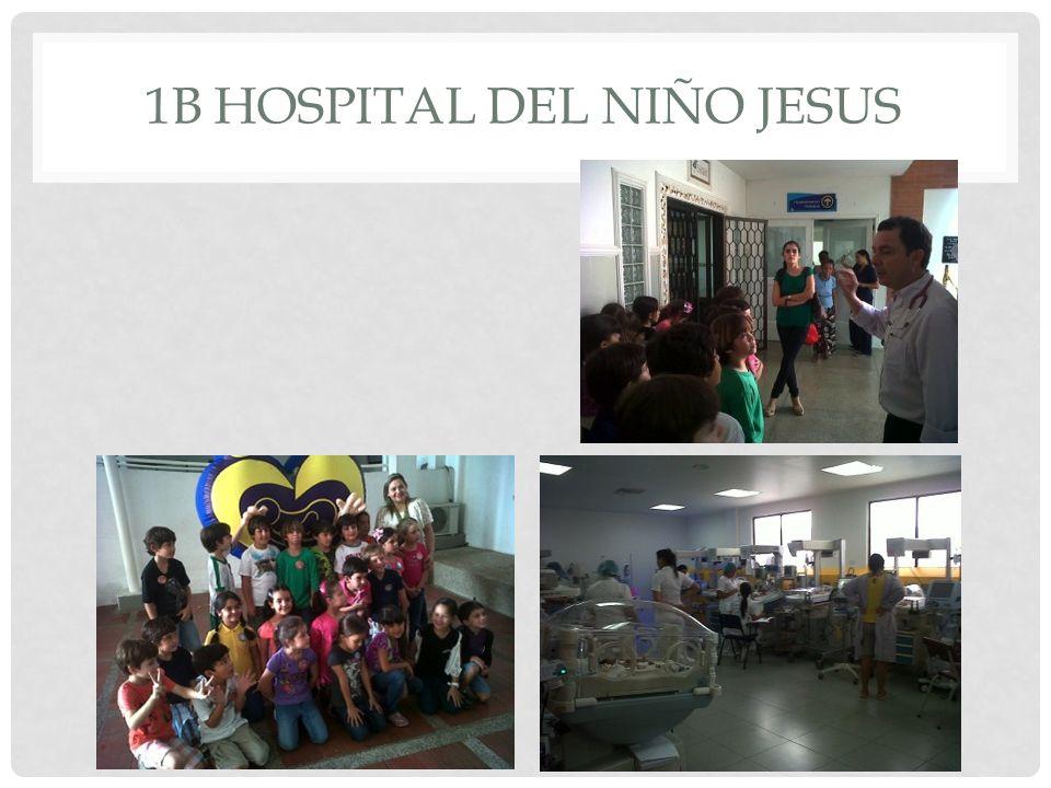 1B HOSPITAL DEL NIÑO JESUS
