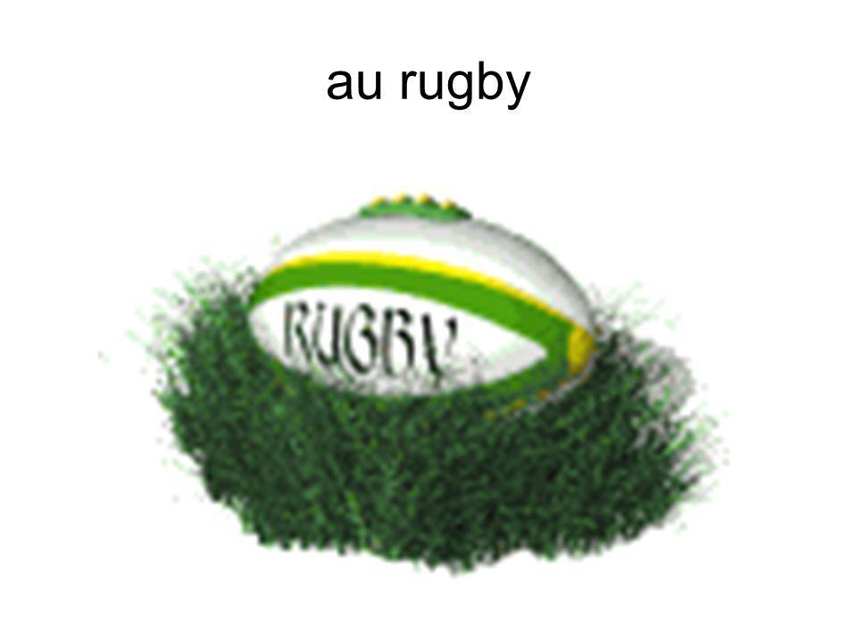 au rugby