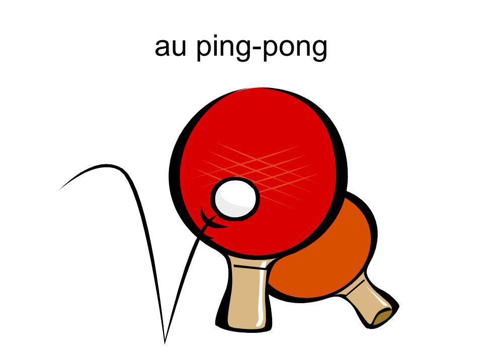 au ping-pong