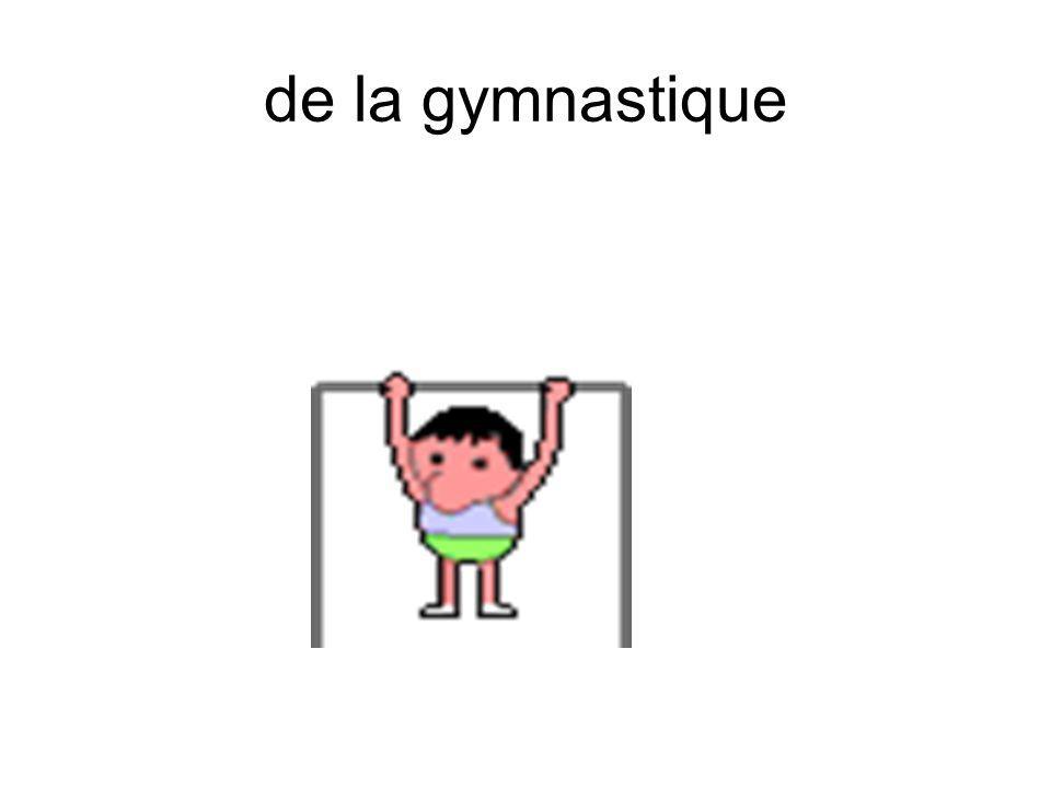 de la gymnastique