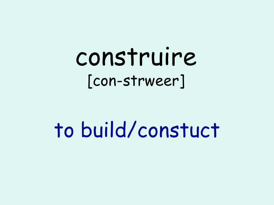 comprendre [com-pron-druh] to understand OR to include