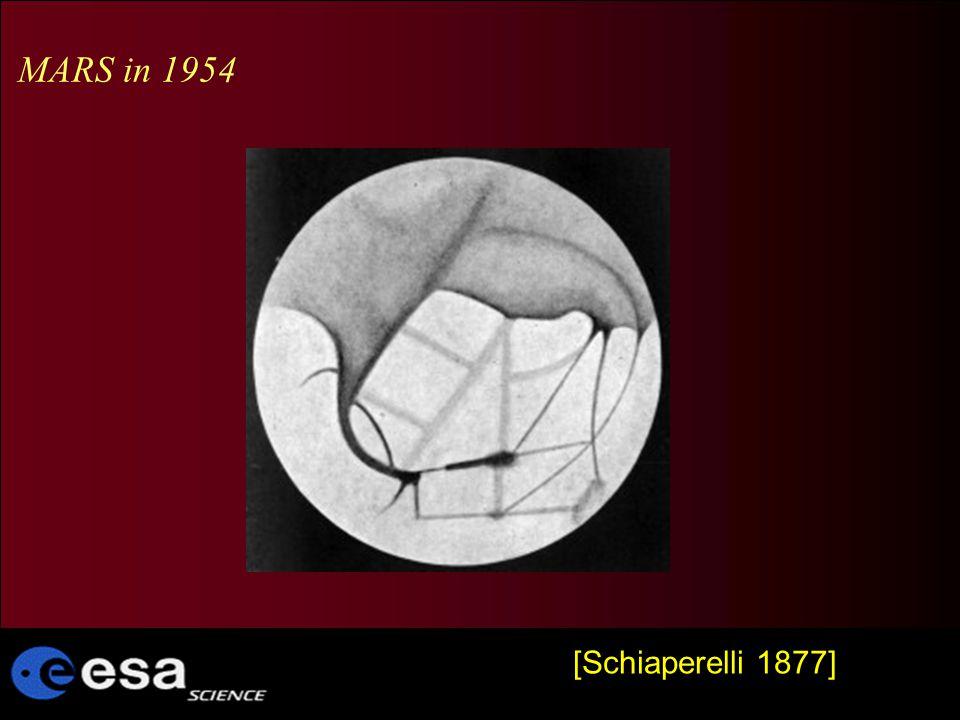 [Schiaperelli 1877] MARS in 1954