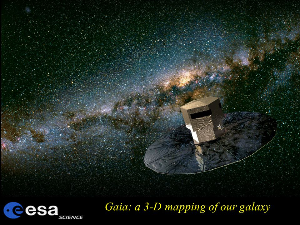 Gaia: a 3-D mapping of our galaxy