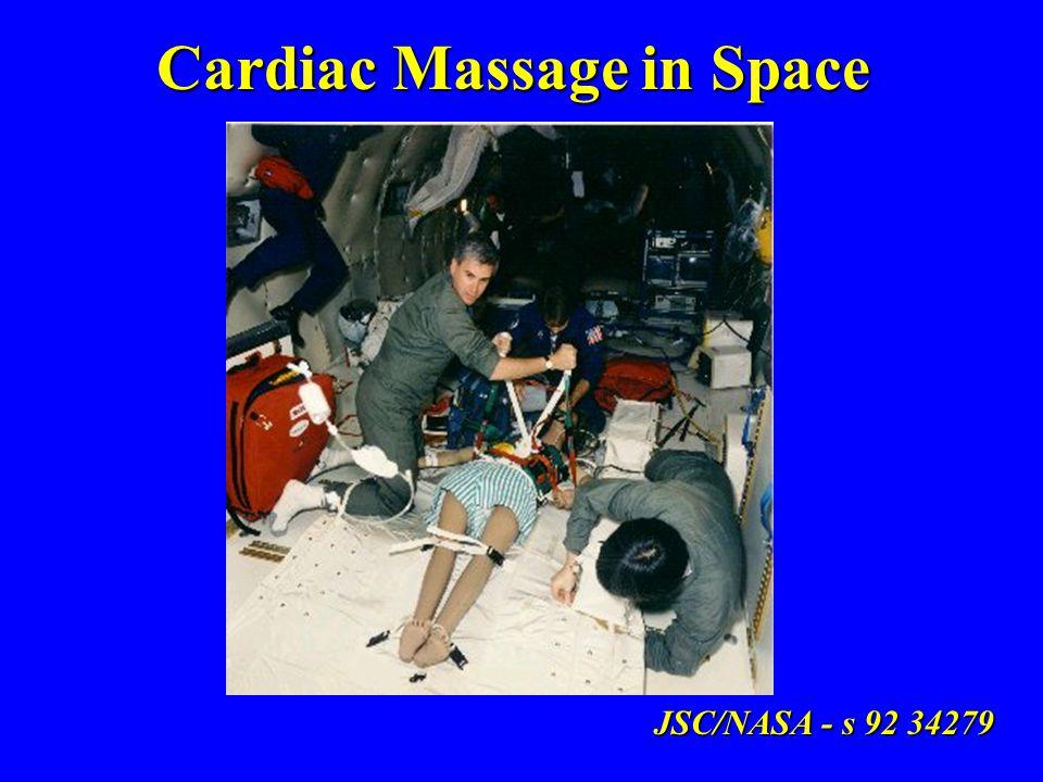 Cardiac Massage in Space JSC/NASA - s 92 34279