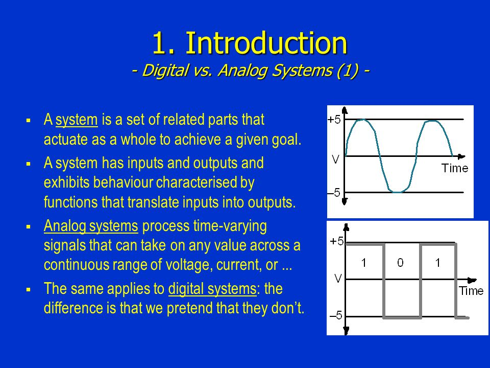 1. Introduction - Digital vs.