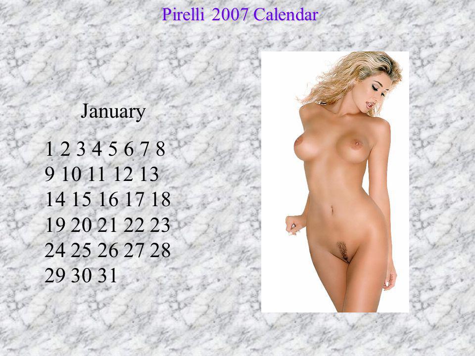 February 1 2 3 4 5 6 7 8 9 10 11 12 13 14 15 16 17 18 19 20 21 22 23 24 25 26 27 28 Pirelli 2007 Calendar