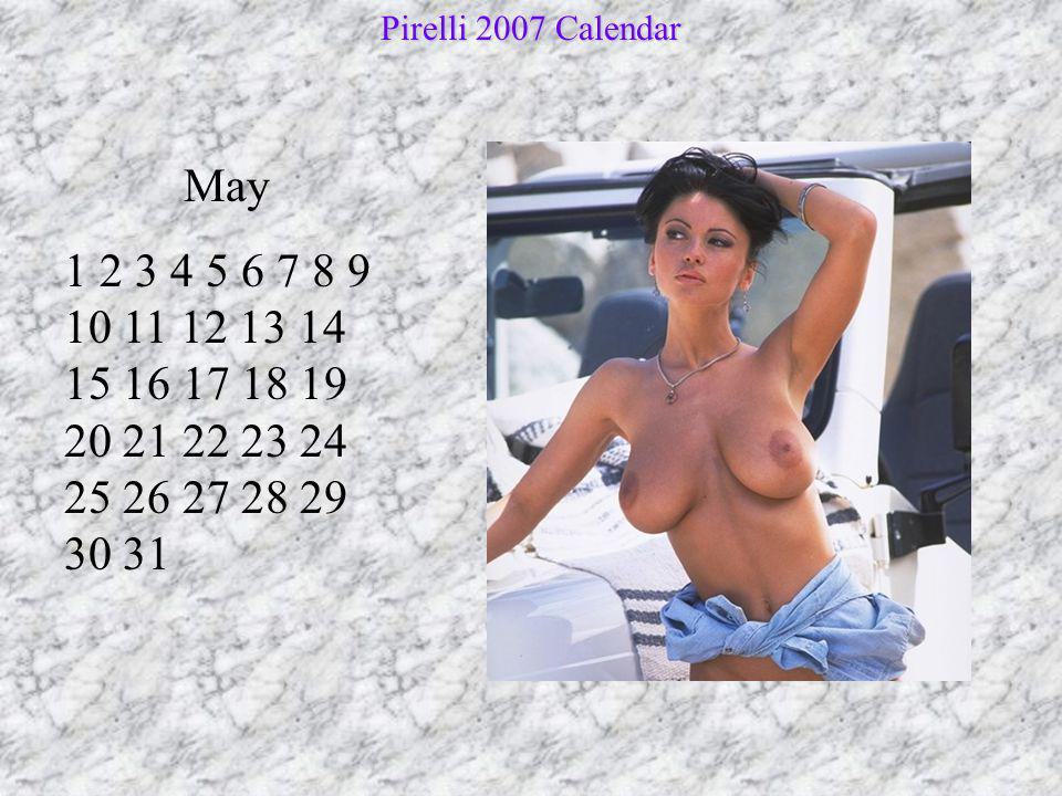 June 1 2 3 4 5 6 7 8 9 10 11 12 13 14 15 16 17 18 19 20 21 22 23 24 25 26 27 28 29 30 Pirelli 2007 Calendar