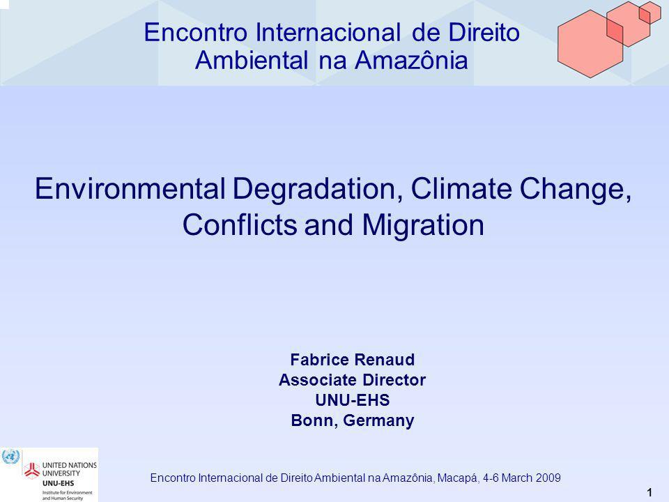 12 Encontro Internacional de Direito Ambiental na Amazônia, Macapá, 4-6 March 2009 Figure f.