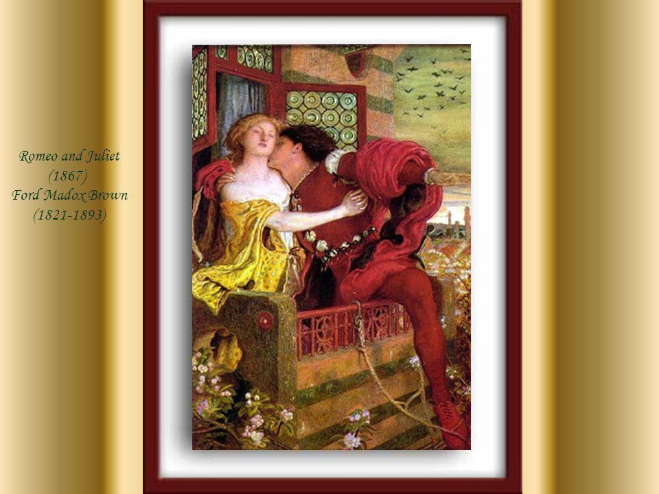 Romeo and Juliet (1867) Ford Madox Brown (1821-1893)