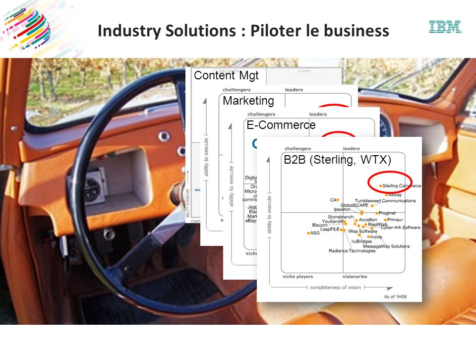 Content Mgt Marketing E-Commerce B2B (Sterling, WTX) Industry Solutions : Piloter le business