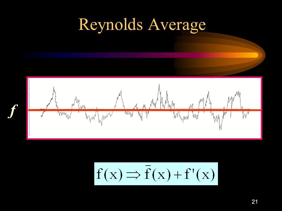 21 Reynolds Average f