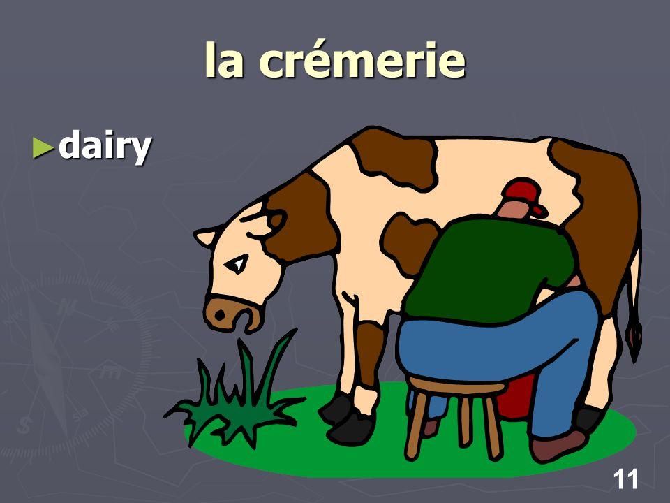 11 la crémerie dairy dairy