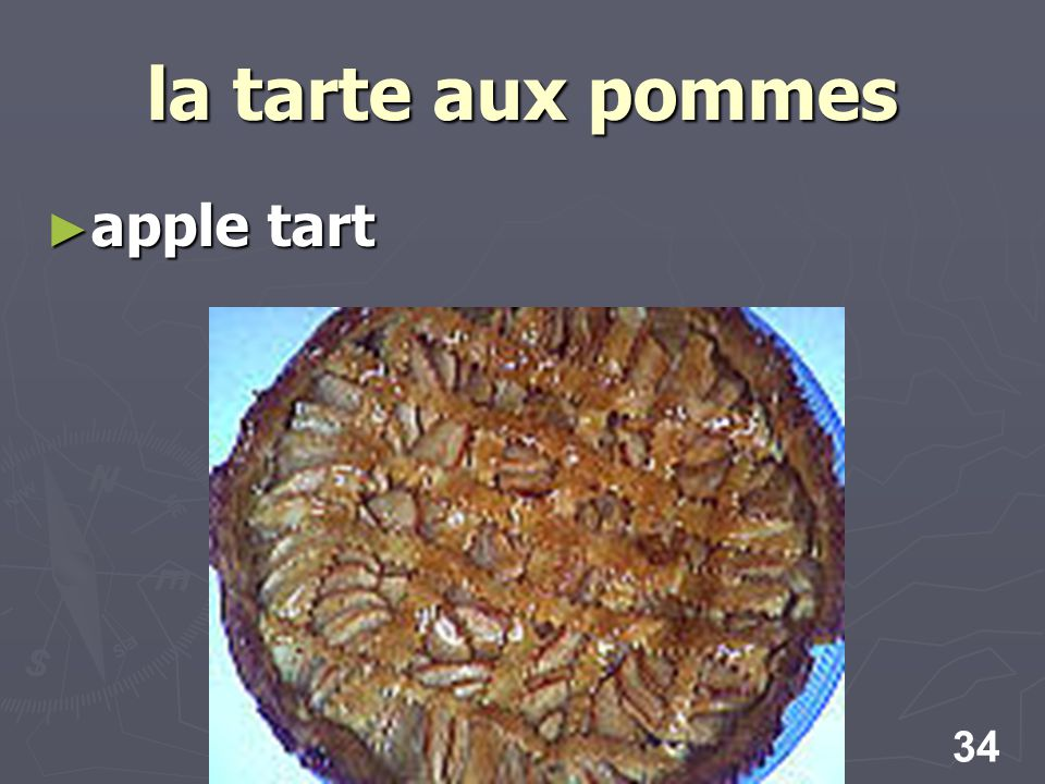 34 la tarte aux pommes apple tart apple tart