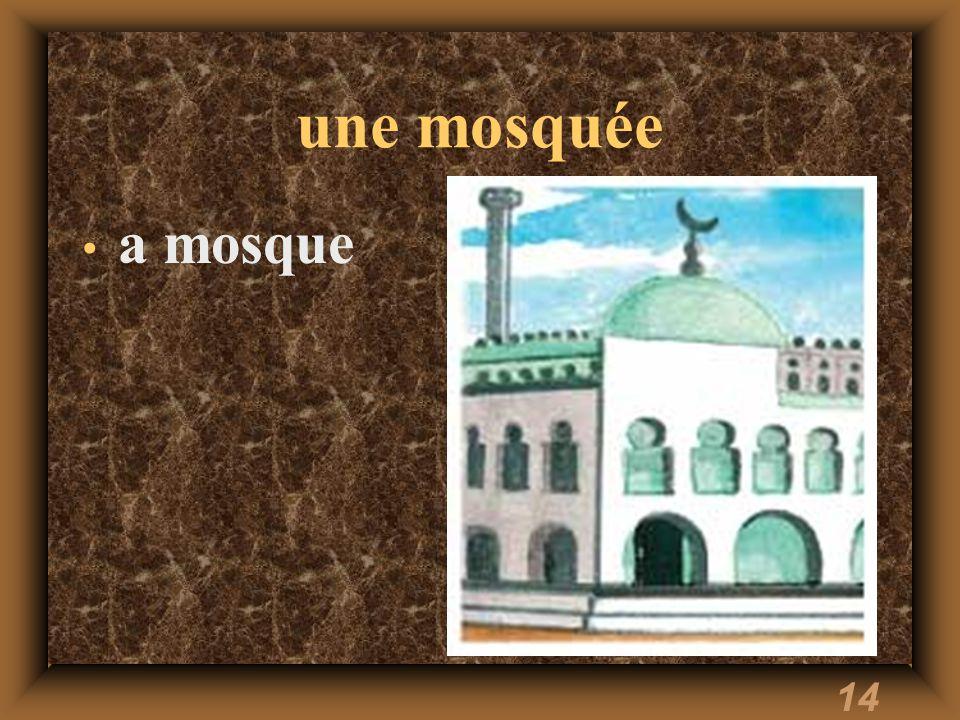14 une mosquée a mosque