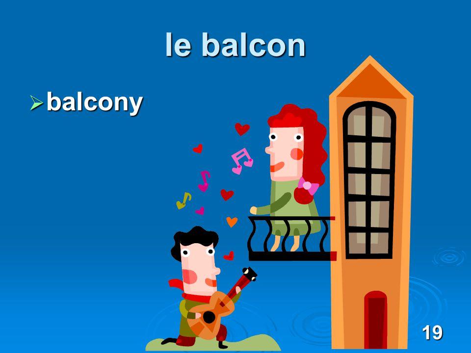 19 le balcon balcony balcony