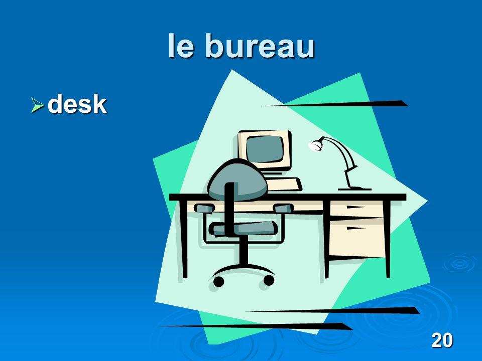 20 le bureau desk desk