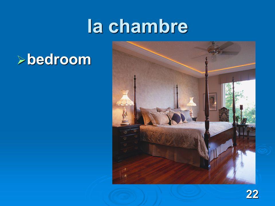 22 la chambre bedroom bedroom