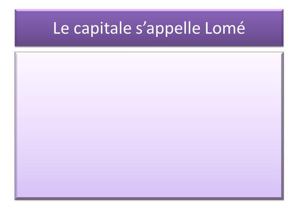 Voila Lafrique! Et Voila le Togo
