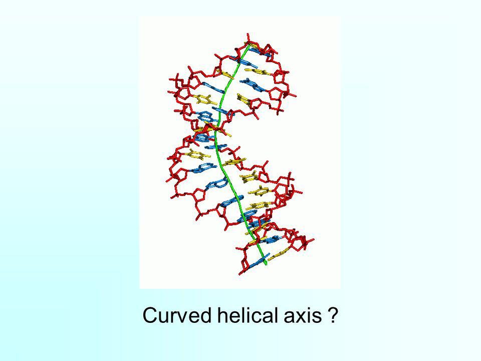 Curved helical axis