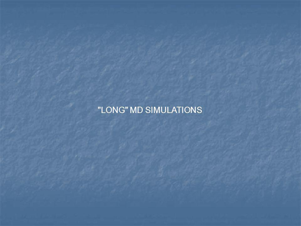 LONG MD SIMULATIONS