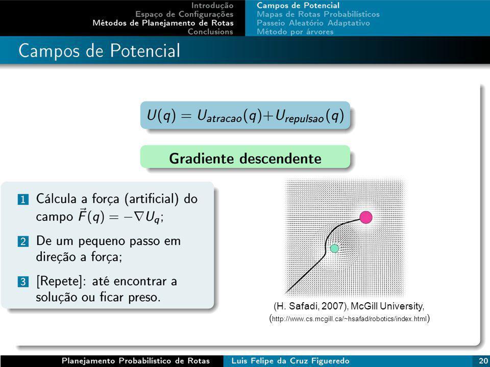 (H. Safadi, 2007), McGill University, ( http://www.cs.mcgill.ca/~hsafad/robotics/index.html )