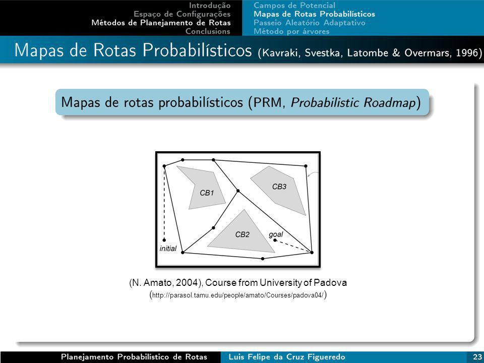 (N. Amato, 2004), Course from University of Padova ( http://parasol.tamu.edu/people/amato/Courses/padova04/ )