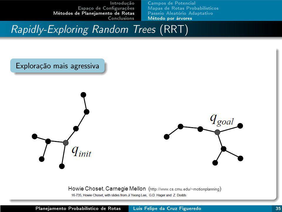 Howie Choset, Carnegie Mellon ( http://www.cs.cmu.edu/~motionplanning )