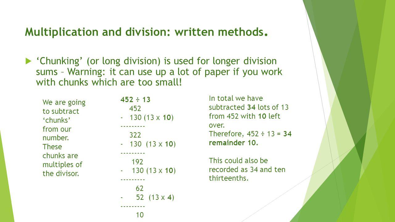 Long Division Worksheets Chunking division worksheets and year 6 – Division Chunking Worksheet
