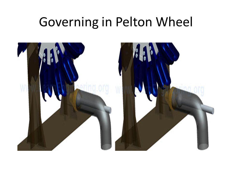 Governing in Pelton Wheel
