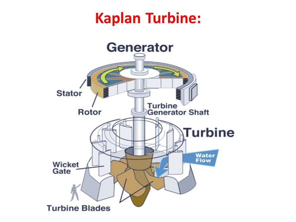 Kaplan Turbine: